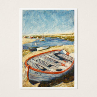 Artists Trading Card, Open Edition, Norfolk Dinghy Business Card