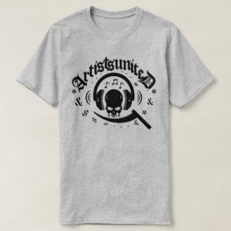 Artists United Cool Skull Headphones T-Shirt