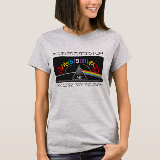 Artists United Creating New Worlds Prism T-Shirt