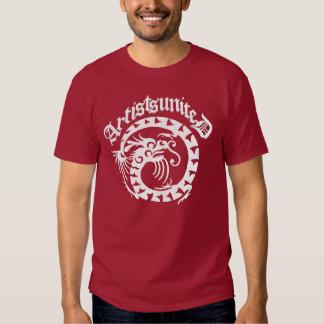 Artists United Dragon Motif T Shirts