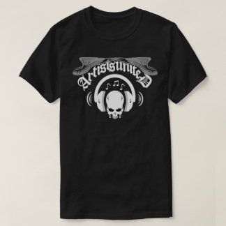 Artists United Skull and Headphones T-Shirt