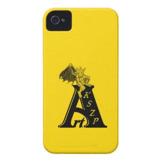 ArtKSZP logo black yellow Design iPhone 4 Case