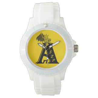 ArtKSZP logo with GOLEM - Gargoyle Wrist Watch