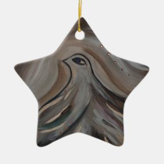 Artmarieagnes' S Blind At Zazzle Ceramic Ornament