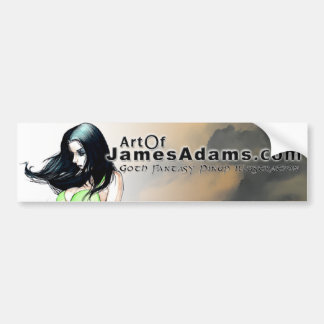 ArtOfJamesAdams.com Bumper Sticker
