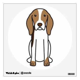 Artois Hound Dog Cartoon Wall Sticker
