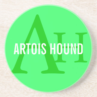 Artois Hound Monogram Drink Coaster