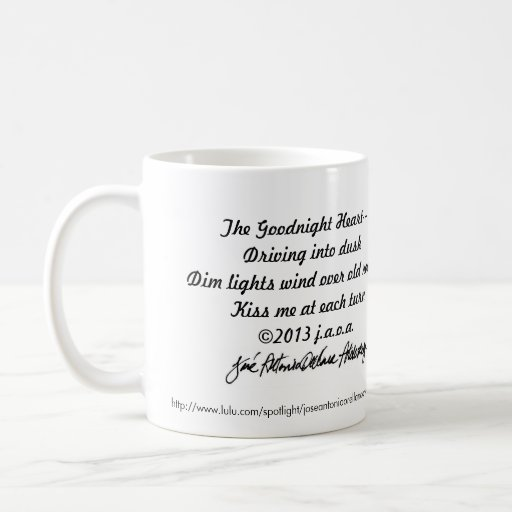 Artolozaga Haiku & Poems #3 with jaoa signature Coffee Mug