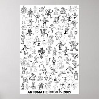 Artomatic Robots 2009 Poster 1