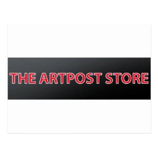 artpost postcard