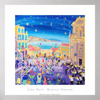 ArtPoster: Menton musical Conservatoire de Musique Poster