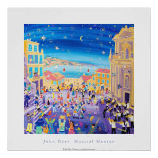 ArtPoster: Musical Menton Conservatoire de Musique Poster