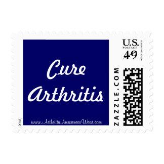 Artritis de la curación timbres postales