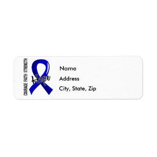 Artritis de la esperanza 5 de la fe del valor etiqueta de remite