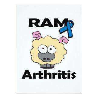 Artritis de RAM Invitación 16,5 X 22,2 Cm