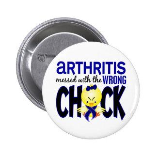 Artritis ensuciada con el polluelo incorrecto pin redondo 5 cm