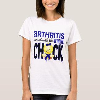 Artritis ensuciada con el polluelo incorrecto playera