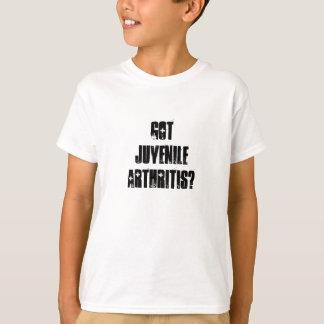 ¿Artritis juvenil conseguida? Polera