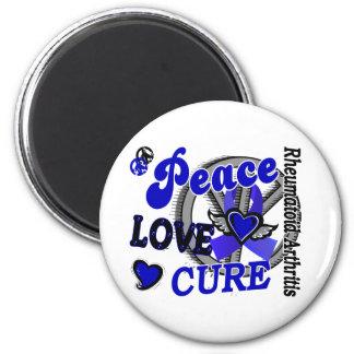 Artritis reumatoide de la curación 2 del amor de l imán redondo 5 cm