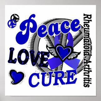Artritis reumatoide de la curación 2 del amor de l poster
