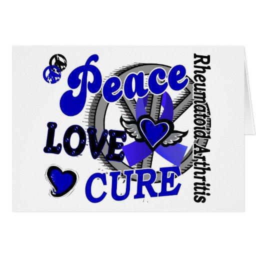 Artritis reumatoide de la curación 2 del amor de l tarjetas