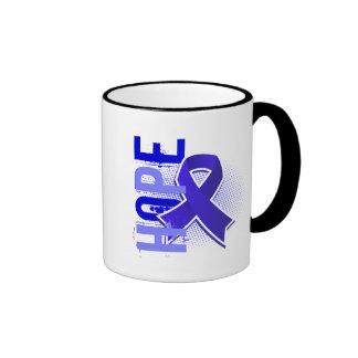 Artritis reumatoide de la esperanza 2 taza a dos colores