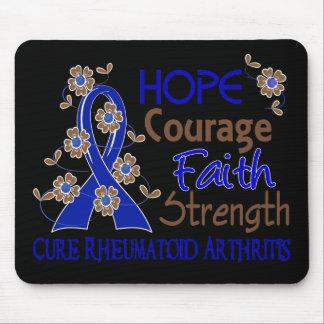 Artritis reumatoide de la fuerza 3 de la fe del va alfombrillas de ratones