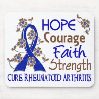 Artritis reumatoide de la fuerza 3 de la fe del va tapetes de ratón