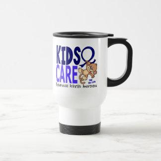 Artritis reumatoide del cuidado 1 de los niños taza de café
