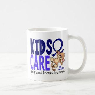 Artritis reumatoide del cuidado 1 de los niños tazas