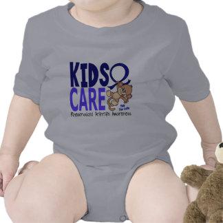 Artritis reumatoide del cuidado 1 de los niños camisetas