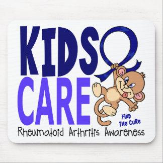 Artritis reumatoide del cuidado 1 de los niños tapete de raton