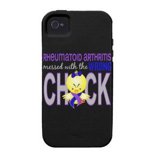 Artritis reumatoide ensuciada con el polluelo Case-Mate iPhone 4 carcasas