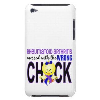 Artritis reumatoide ensuciada con el polluelo iPod touch Case-Mate protectores