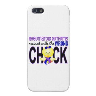 Artritis reumatoide ensuciada con el polluelo iPhone 5 funda