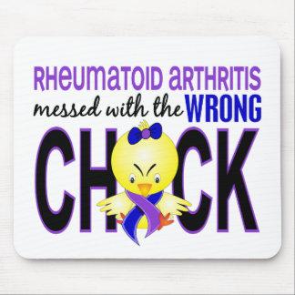 Artritis reumatoide ensuciada con el polluelo alfombrilla de ratón