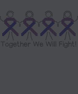 Artritis reumatoide juntos que lucharemos camisetas