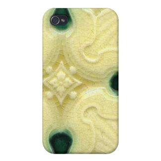 Arts and Crafts Art Nouveau Ceramic Tile Vintage iPhone 4 Cases