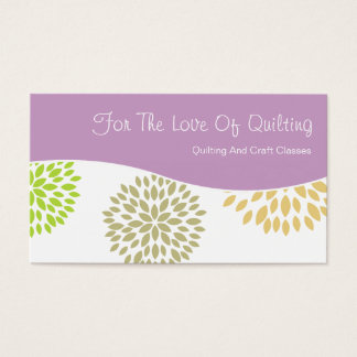 Arts And Crafts Business Cards