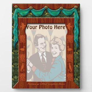 Arts and Crafts Draped Window - Personalized Display Plaque