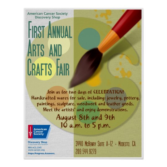 Arts and Crafts Fair Poster