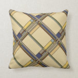 Arts and Crafts Geometric in Fall Colors var. 1 Throw Pillow