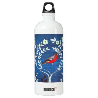 Arts and Crafts style bird SIGG Traveler 1.0L Water Bottle