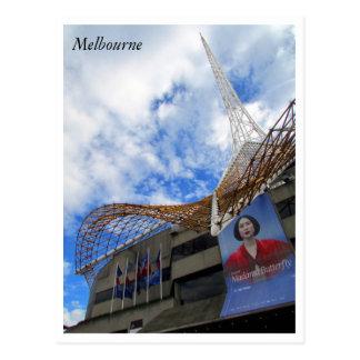arts centre melbourne postcard