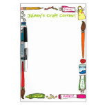 Arts & Crafts Custom Dry-Erase Board