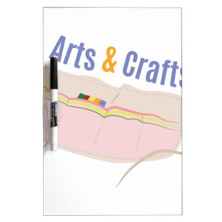 Arts & Crafts Dry Erase Board