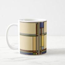 Arts & Crafts Fall Geometric Pattern Coffee Mug
