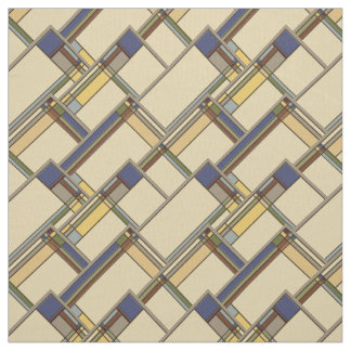 Arts & Crafts Fall Geometric Pattern Fabric