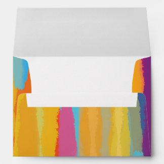 Arts & Crafts Paint Party Invitation Envelope