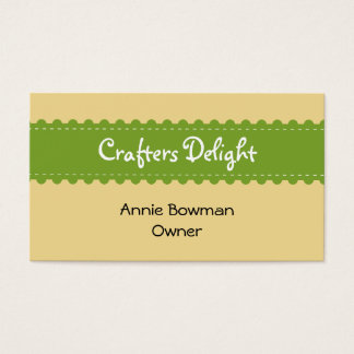 Arts And Crafts Business Cards & Templates | Zazzle